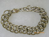 Chain mail link silver brac_resize